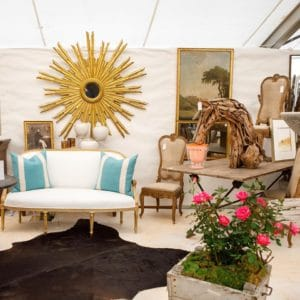 Marburger Farm Antiques Show in Round Top, Texas